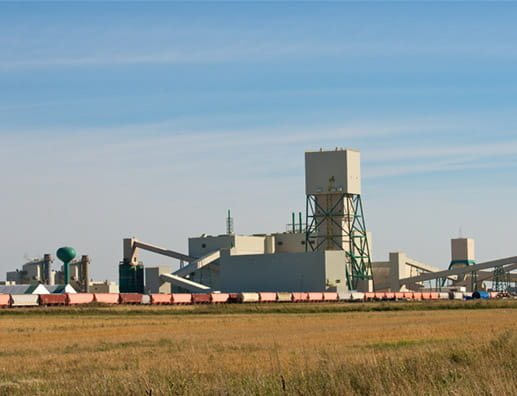 Potash Plant in Saskatchewan