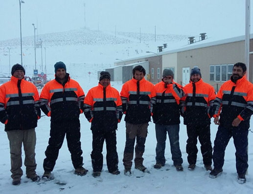 Safety Award for Golder Chile Team